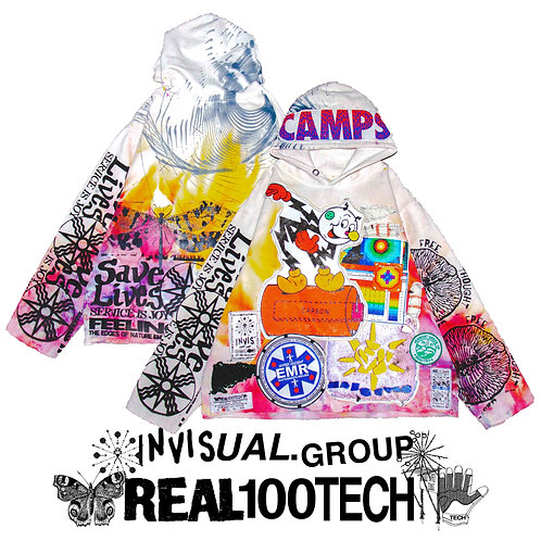 ✇ 635 /  LUCAS ALAMO x REAL100TECH / BATTERY AGE 1 / MEDIUM