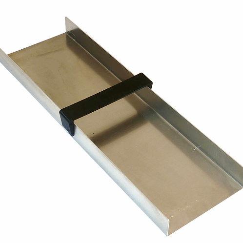 Rinnenkörper Aluminium 50 x 15 cm, Totale