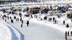 Village sur glace - Roberval