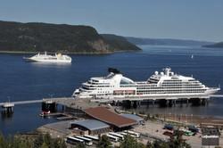 Port La Baie-escale croisière