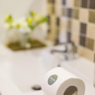 Pormenor decorativo da casa de banho