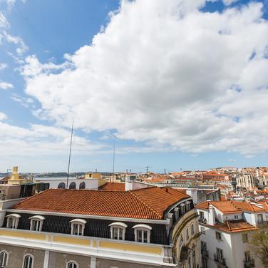 Vista sobre cidade de Lisboa