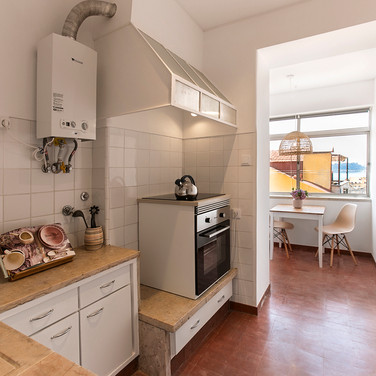 Cozinha com vista Tejo