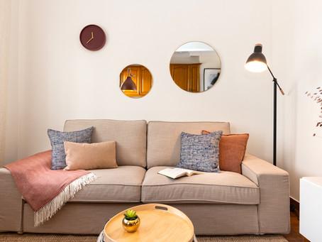 Almofadas: aliadas em Home Staging