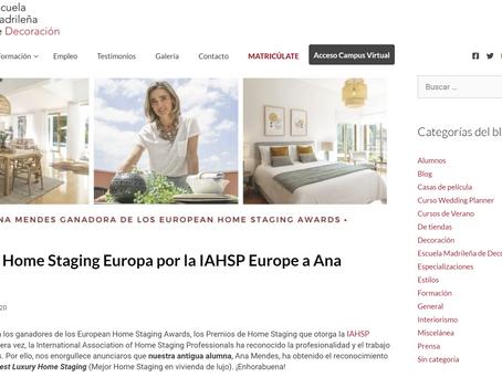 Vitória para Portugal nos Prémios Europeus de Home Staging - Best Luxury Staging