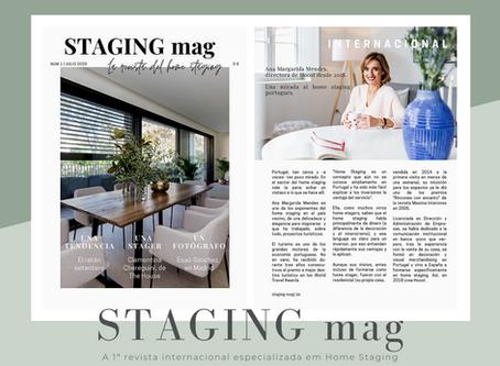 A HOOST está presente na 1ª revista internacional de Home Staging