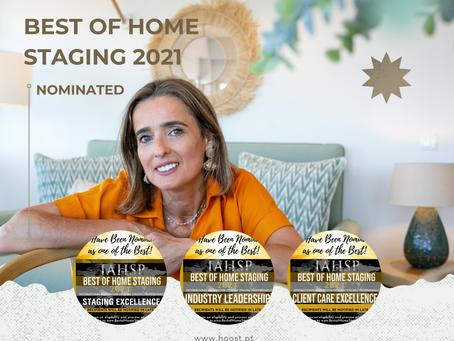 Tripla nomeação Best Of Home Staging 2021
