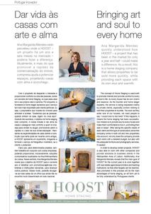 entrevista à HOOST Home Staging na revista Portugal Inovador