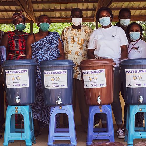 Maji Bucket Distribution (Volta Region, Ghana)