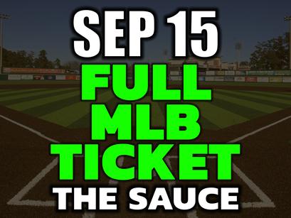 MLB Picks Tonight Wednesday September 15th