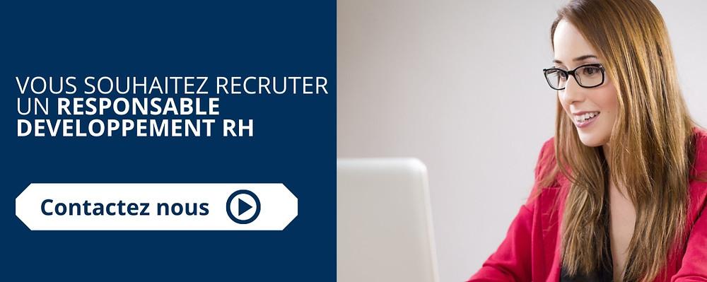 recrutement d'un responsable développement RH