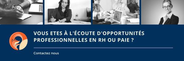 Foxrh cabinet de recrutement  aux opportunités RH et Paie