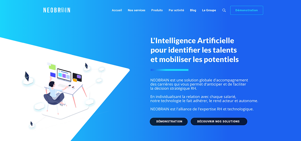 Neobrain, l'IA pour identifier des talents