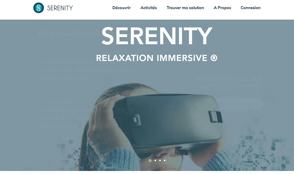 Serenity, la relaxation immersive