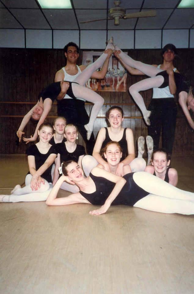 Advanced Ballet Pose