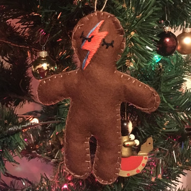 Bowie gingerbread
