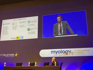 Доклад на международном конгрессе Myology-2019 в Бордо