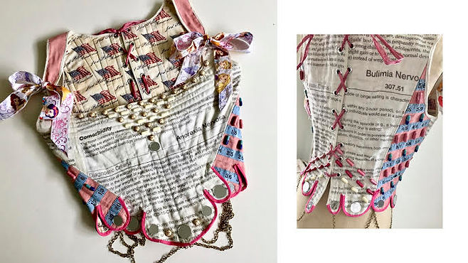 Anorexia and Eating Disorder Corset