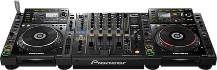 Pioneer DJ setup