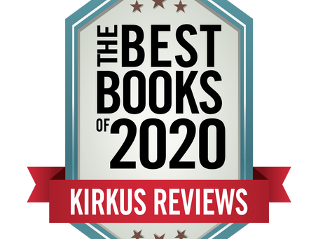 The True Adventures Lands on the Kirkus Review Best of 2020 List!