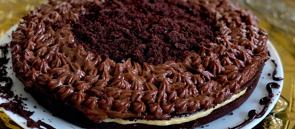 Black Velvet gluten free cake