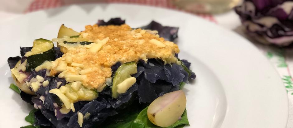 Red Cabbage Tortino