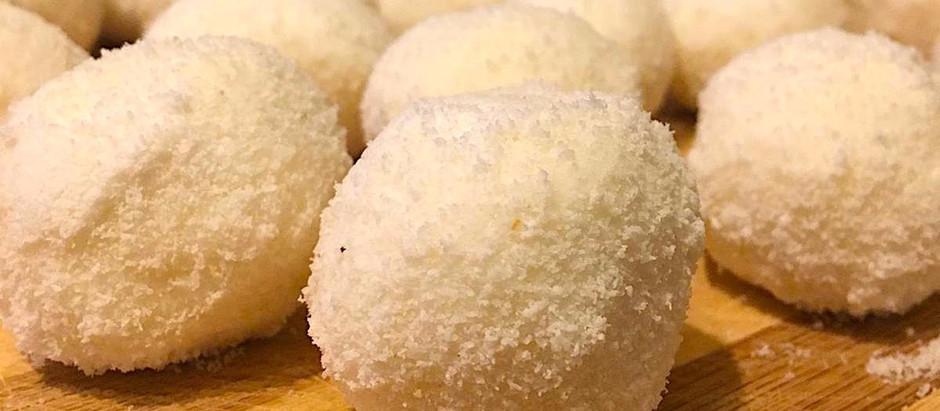 Gluten Free Coconut Power Balls
