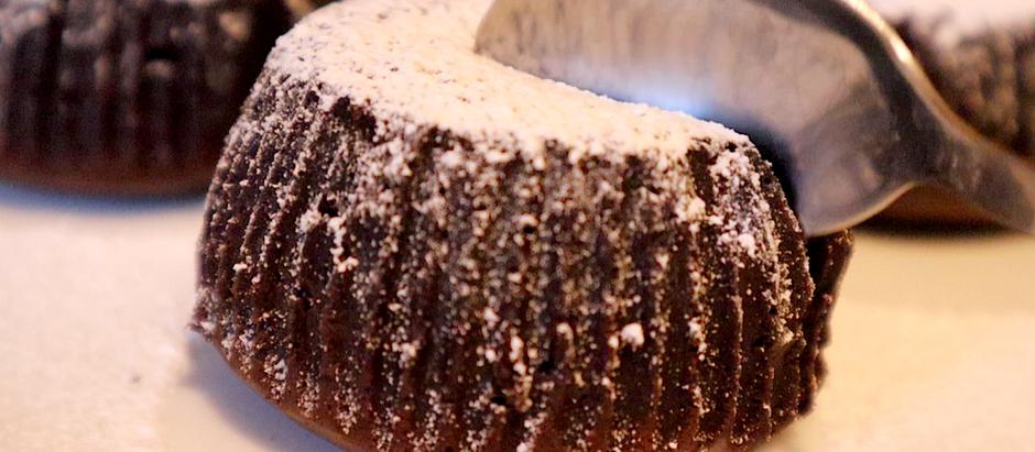 Gluten Free Chocolate Lava Cakes