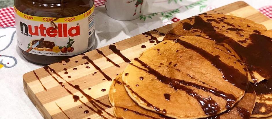 Gluten Free Pancakes & Nutella