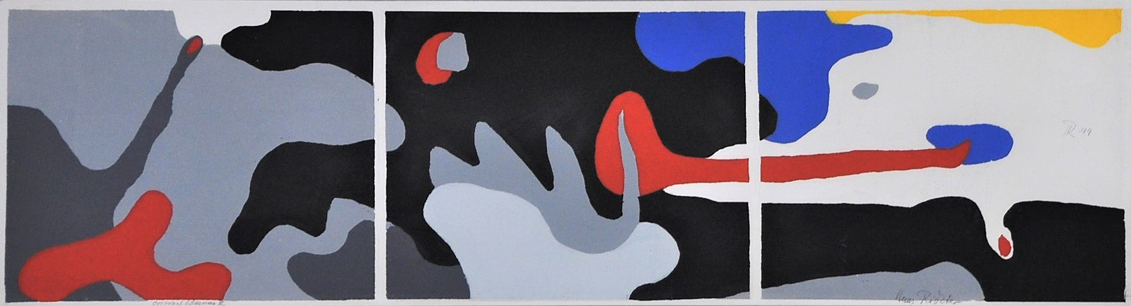 Triptych: Transformation - Dusk, Night, Dawn 1949