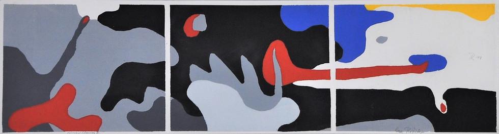 Triptych: Transformation - Dusk, Night, Dawn 1949