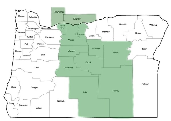 Oregon Network Map - COIPA