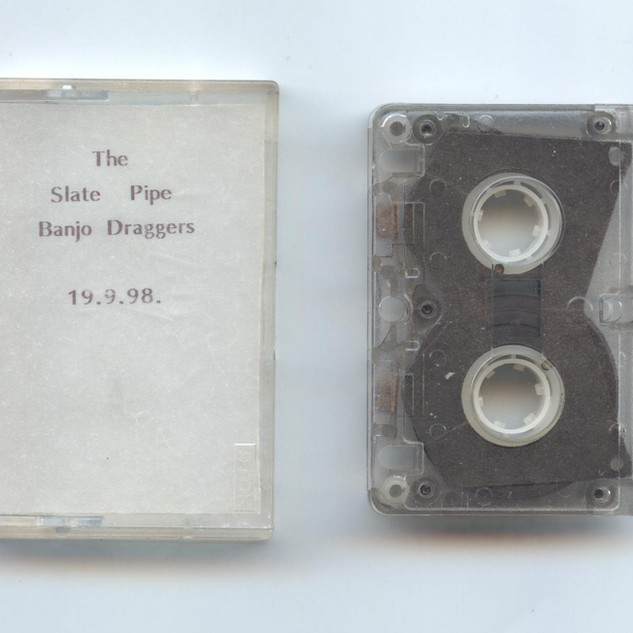 Slate pipe banjo draggers found microcassette 1998