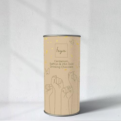 Cardamom, Saffron & 23ct Gold Hot Chocolate