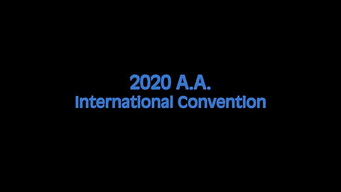 2020 AA International Convention Invitation