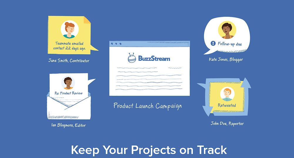 Buzzstream projects