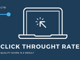 Click Through Rate ( CTR )