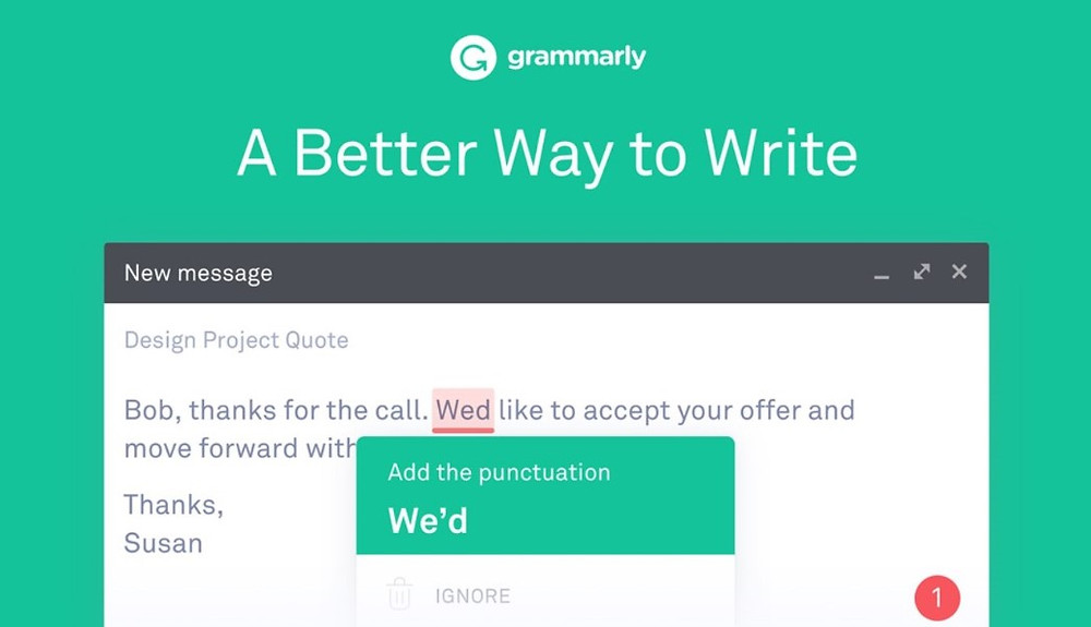 Grammarly review tool