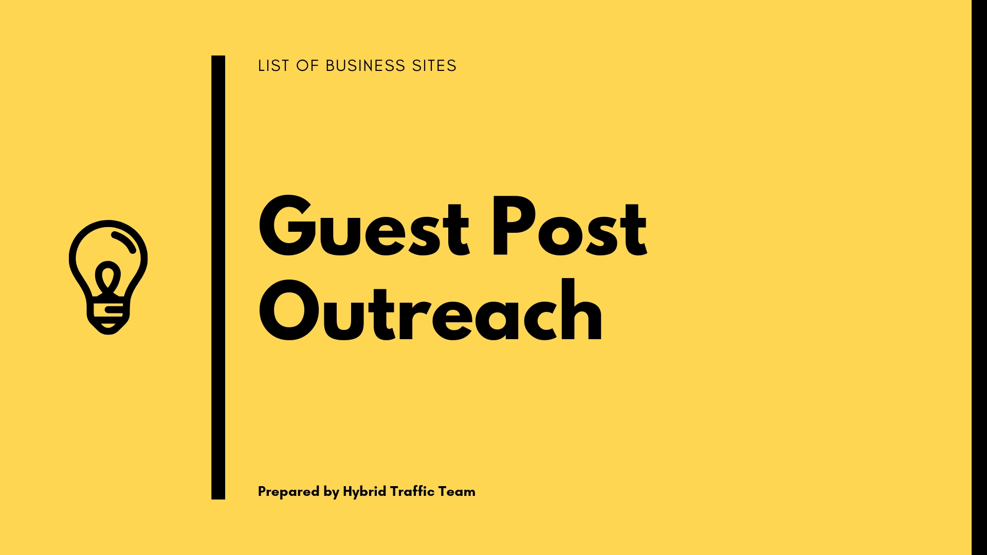 List Of Free Business Guest Post Niche For SEO Outreach [2018