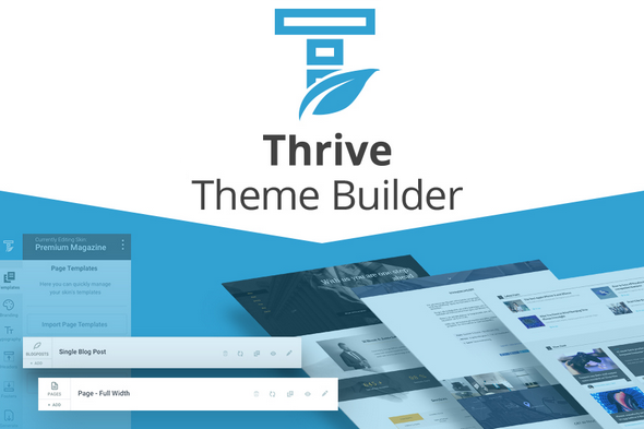 Features Of The Thrive theme Builder