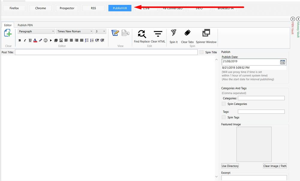 browseo publish hub
