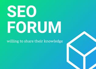 Top 5 SEO Forum In 2020