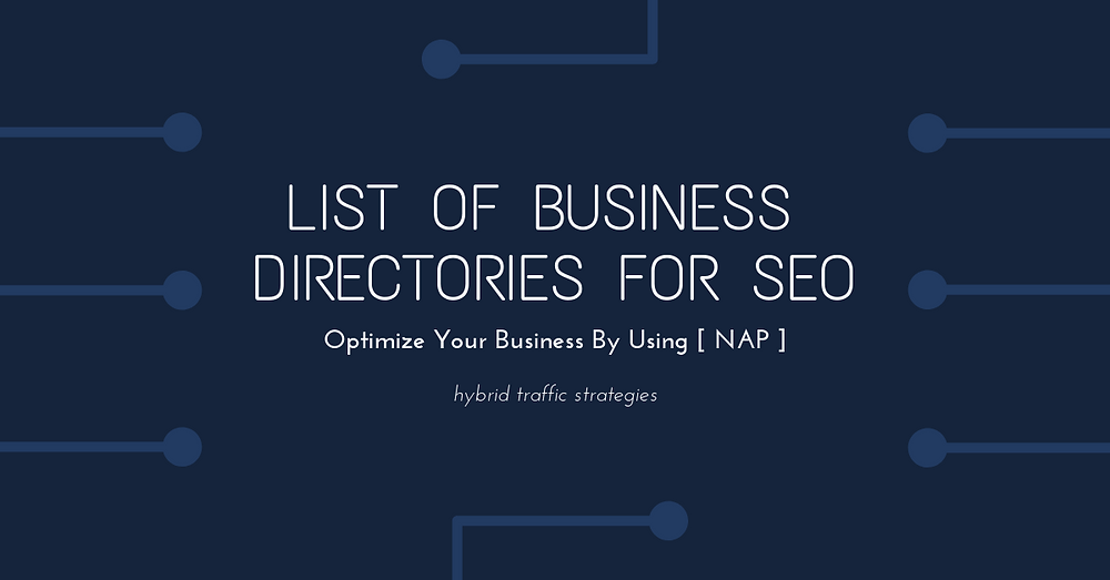 business directories for SEO
