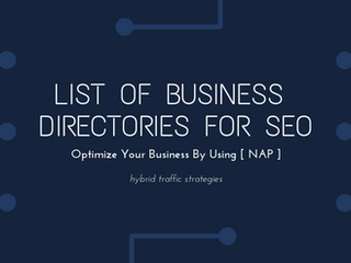 List Of Business Directories Listing For SEO [2020]