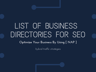List Of Business Directories Listing For SEO [2021]