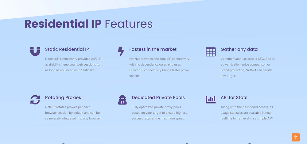 NetNut offers a friendly user interface