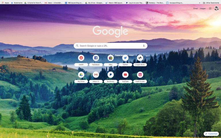 Pick Google Themes Beauty