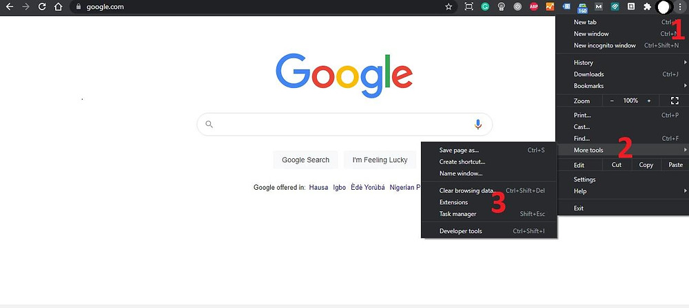 1Manage Chrome Extensions