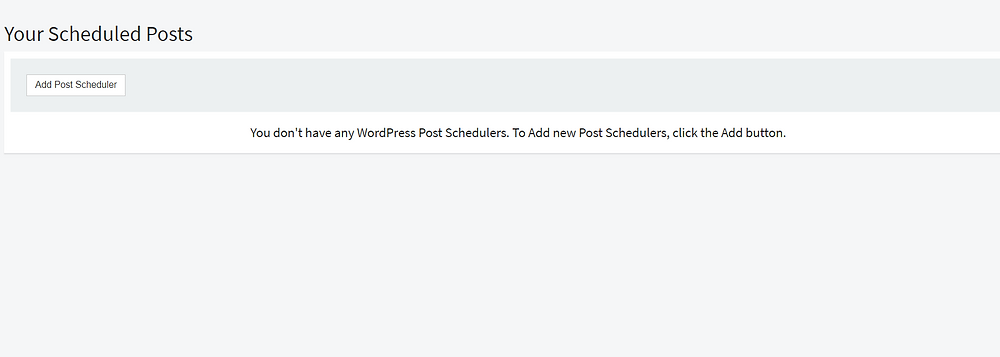 article forge post scheduler