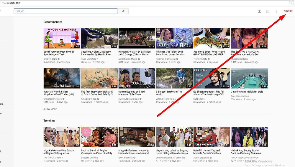 free backlinks youtube